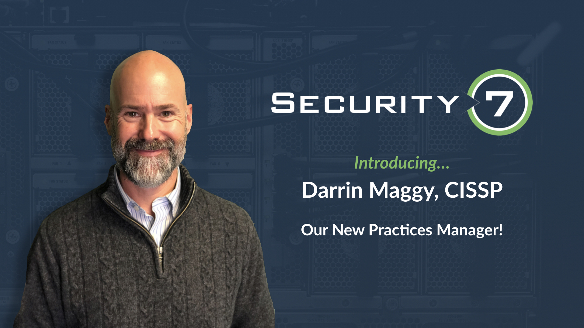 Introducing Darrin Maggy, our NEW Practice Manager