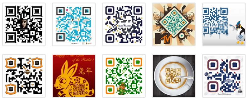 Be careful scanning these QR Codes